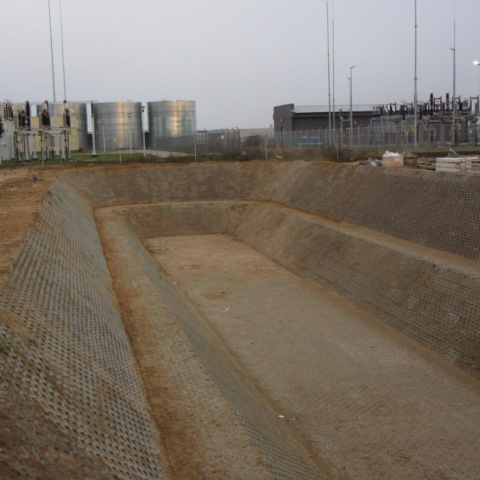 Budnik - Układanie kostki brukowej - Fabryka Forte w Suwałkach